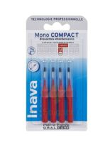 Inava Brossettes Mono-compact Rouge Iso 4 1,5mm à TOURCOING
