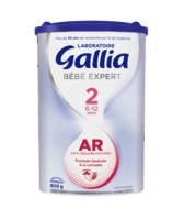 Gallia Bebe Expert Ar 2 Lait En Poudre B/800g à TOURCOING