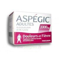Aspegic Adultes 1000 Mg, Poudre Pour Solution Buvable En Sachet-dose 20 à TOURCOING