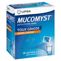 Mucomyst 200 Mg Poudre Pour Solution Buvable En Sachet B/18 à TOURCOING