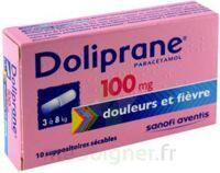 Doliprane 100 Mg Suppositoires Sécables 2plq/5 (10) à TOURCOING