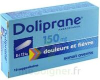 Doliprane 150 Mg Suppositoires 2plq/5 (10) à TOURCOING