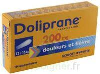 Doliprane 200 Mg Suppositoires 2plq/5 (10) à TOURCOING
