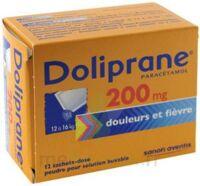 Doliprane 200 Mg Poudre Pour Solution Buvable En Sachet-dose B/12 à TOURCOING