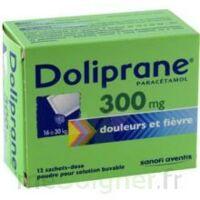 Doliprane 300 Mg Poudre Pour Solution Buvable En Sachet-dose B/12 à TOURCOING