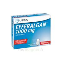 Efferalgan 1000 Mg Comprimés Pelliculés Plq/8 à TOURCOING