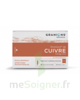Granions De Cuivre 0,3 Mg/2 Ml S Buv 30amp/2ml à TOURCOING