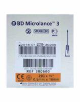 Bd Microlance 3, G25 5/8, 0,5 Mm X 16 Mm, Orange  à TOURCOING