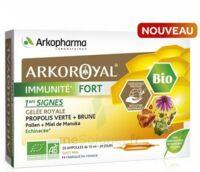 Arkoroyal Immunité Fort Solution Buvable 20 Ampoules/10ml à TOURCOING