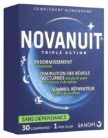 Novanuit Triple Action Comprimés B/30 à TOURCOING