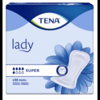 Tena Lady Protection Anatomique Adhésive Super Sachet/30 à TOURCOING