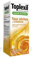 Toplexil 0,33 Mg/ml Sans Sucre Solution Buvable 150ml à TOURCOING