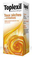 Toplexil 0,33 Mg/ml, Sirop 150ml à TOURCOING