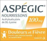 Aspegic Nourrissons 100 Mg, Poudre Pour Solution Buvable En Sachet-dose à TOURCOING