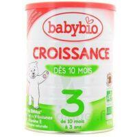 Babybio Croissance 3, Bt 900 G à TOURCOING