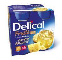 Delical Boisson Fruitee Nutriment Ananas 4bouteilles/200ml à TOURCOING