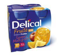 Delical Boisson Fruitee Nutriment Multi Fruits 4bouteilles/200ml à TOURCOING