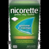 Nicorette 2 Mg Gomme à Mâcher Médicamenteuse Sans Sucre Fruits Plq/30 à TOURCOING
