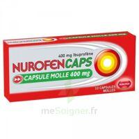 Nurofencaps 400 Mg Caps Molle Plq/10 à TOURCOING