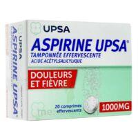 Aspirine Upsa Tamponnee Effervescente 1000 Mg, Comprimé Effervescent à TOURCOING