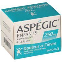 Aspegic Enfants 250, Poudre Pour Solution Buvable En Sachet-dose à TOURCOING