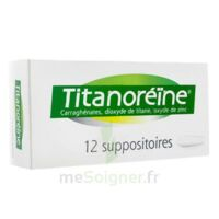 Titanoreine Suppositoires B/12 à TOURCOING