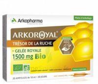 Arkoroyal Gelée Royale Bio 1500 Mg Solution Buvable 20 Ampoules/10ml à TOURCOING