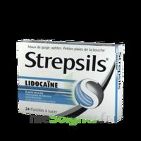 Strepsils Lidocaïne Pastilles Plq/24 à TOURCOING