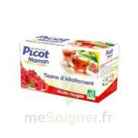 Picot Maman Tisane D'allaitement Fruits Rouges 20 Sachets à TOURCOING