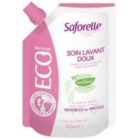 Saforelle Solution Soin Lavant Doux Eco-recharge/400ml à TOURCOING
