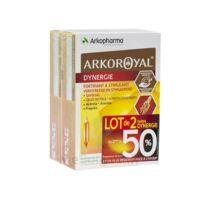Arkoroyal Dynergie Ginseng Gelée Royale Propolis Solution Buvable 2b/20 Ampoules/10ml à TOURCOING