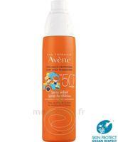 Avène Eau Thermale Solaire Spray Enfant 50+ 200ml à TOURCOING