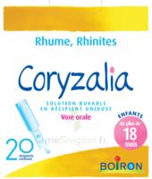 Boiron Coryzalia Solution Buvable Unidose B/20 à TOURCOING