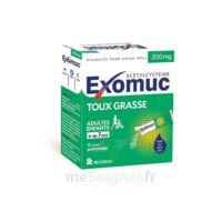 Exomuc 200 Mg, Granulés Pour Usage Oral En Sachet 15 Sachets/2g à TOURCOING