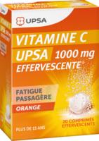 Vitamine C Upsa Effervescente 1000 Mg, Comprimé Effervescent à TOURCOING